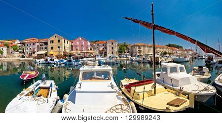 Colorful village of Sali on Dugi Otok island Dalmatia Croatia