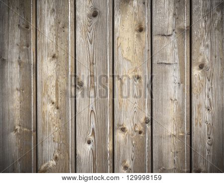 Close up brown wood plank texture for background.