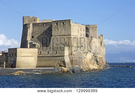 Castel dell'Ovo is the oldest standing fortification in Naples