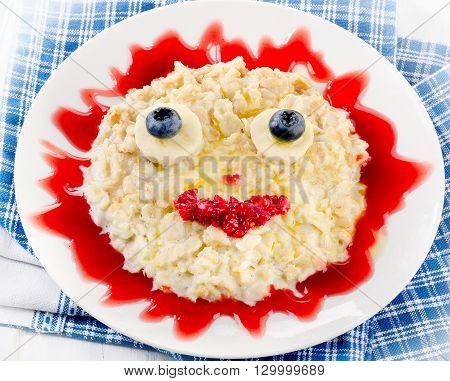 Smiling Oatmeal