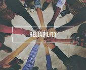 accuracy, commitment, dependable, efficiency, honesty, integrity, quality, reliability, reliable, rely, responsible, trust, trustworthy, trusty, word poster