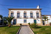 The Palacete Turismo Rural - a Manor Guest House hotel in Flor da Rosa. Crato, Alto Alentejo, Portugal. poster