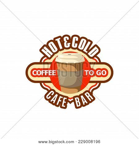 Coffee Paper Cup Icon Fast Food Vector Photo Bigstock
