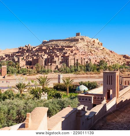 Ait Ben Haddou Or Ait Benhaddou Is A Fortified City Along The Former Caravan Route Between The Sahar