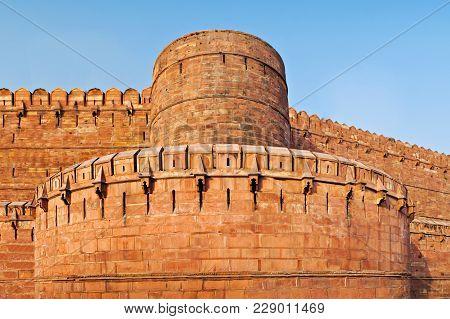 Red Fort In Agra, Uttar Pradesh, India