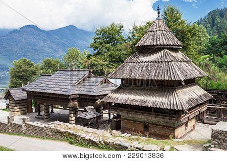 Tripura Sundari Temple In Naggar, Himachal Pradesh, India