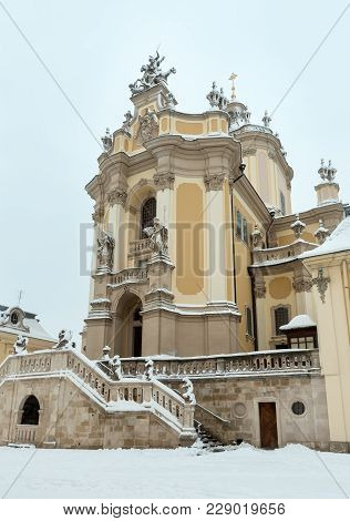 St. George Cathedral (build In 1746-1762, Designed By Architect Bernard Meretyn And Sculptor Johann