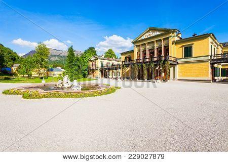 Kaiservilla In Bad Ischl, Austria. Kaiservilla Was The Summer Residence Of Emperor Franz Joseph And