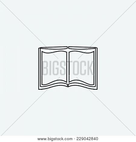 Book Icon Vector Illustration. Read Icon Vector