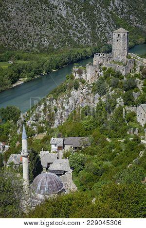 Medieval Town Of Pocitelj, Bosnia & Herzegovina