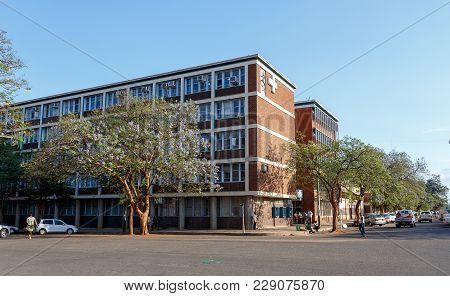 Street In Bulawayo City, Zimbabwe