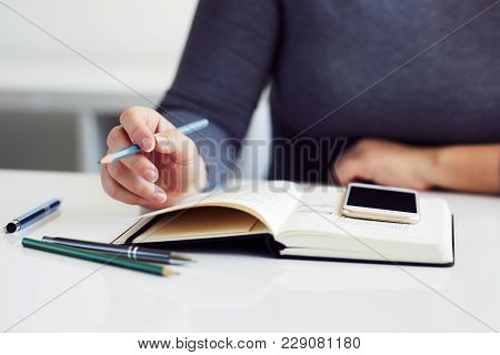Close Up Of Woman Sketching Graphic Sketch