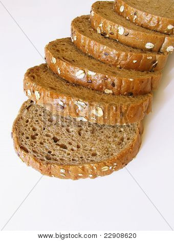 Cereal toast bread