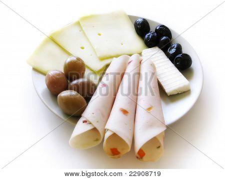 Delicatessen plate