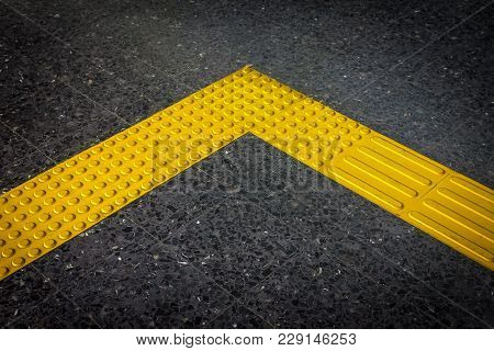 Braille Block, Tactile Paving For Bilnd Handdicap