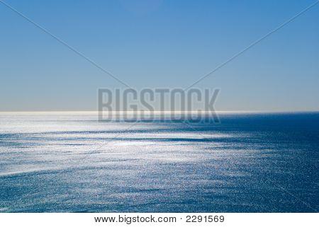 Blue Sky Silver Sea
