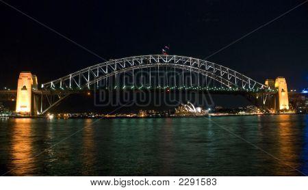 Sydney Harbor Bridge Night