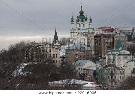 Kiev in winter