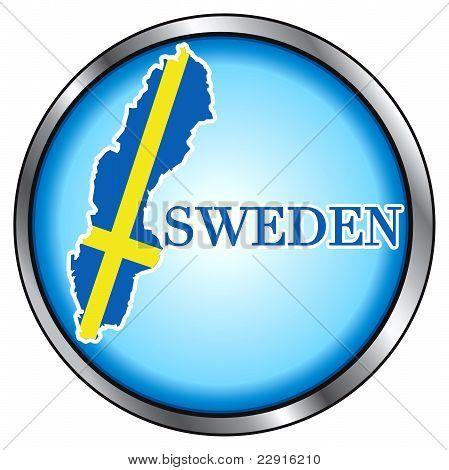 Sweden Round Button