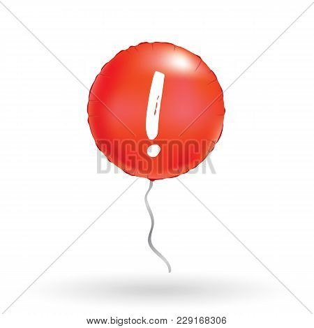 Yellow Screamer Balloon Background For Discount, Store Banners, Advertising, Idea. Logo, Logotype. A