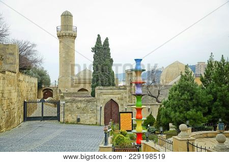The Palace Of The Shirvanshahs Is A 15th-century Palace Built By The Shirvanshahs, Located In The Ol