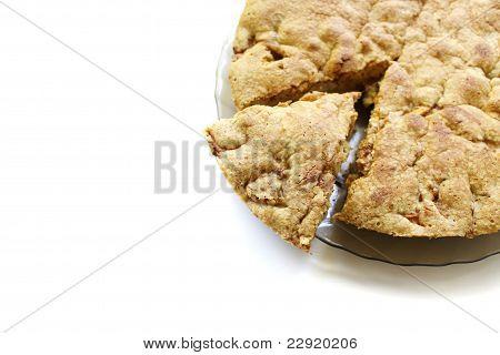 apple pie, isolated