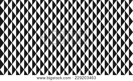 Fashionable Geometric Background From Triangles For Design, Interior, Wallpaper, Screen Savers, Bran