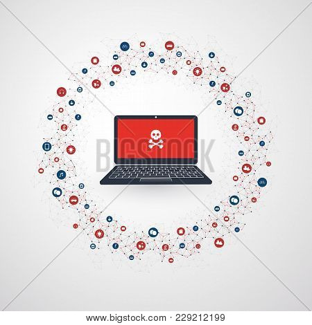 Spreading Malware Infection Causing Infection, Damage And Information Loss - It Security, Threat Pro