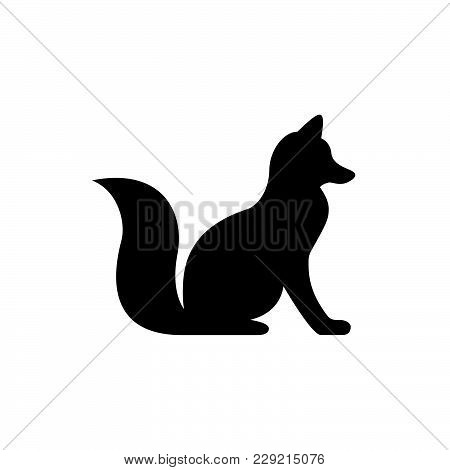 Fox Icon Isolated On White Background. Fox Icon Modern Symbol For Graphic And Web Design. Fox Icon S