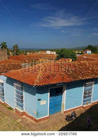 Houses In Trinidad, Cuba