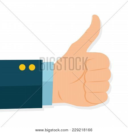 Thumb Up Vector Icon. - Stock Vector