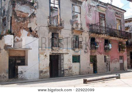 Old house of Havana (stiil inhabited)