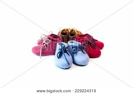 Hand Made Merino Wool Shoes For Young Children