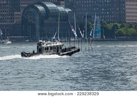 Jersey City Police Emergency Service Unit Boat