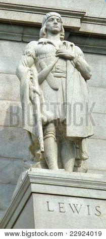Meriwether Lewis Statue