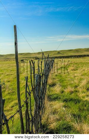 Dixon Ranch, Grasslands National Park, Saskatchewan, Canada