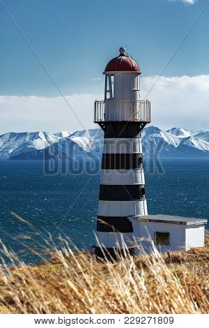 Petropavlovsky Lighthouse (founded In 1850) - Oldest Lighthouse In Russian Far East, Located On Cape