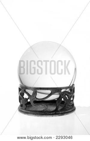 Crystal Ball Against White