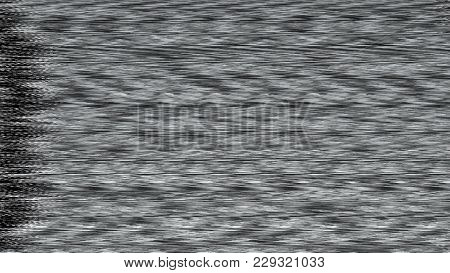 Background With Realistic Flickering, Analog Tv Signal With Bad Interference, Noise Background, 3d R