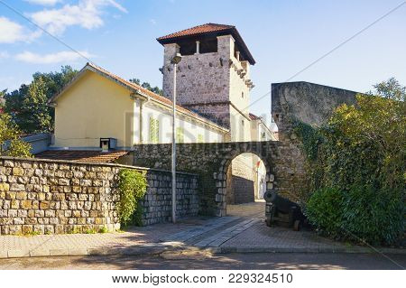 Medieval Summer House Of The Buca Family (15th Century). Tivat City, Montenegro