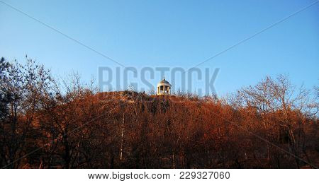 Aeolus Harp On Mashuk Mountain. Pyatigorsk Landmarks And Monuments