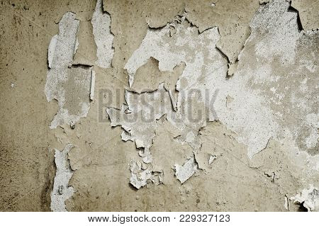 Old Concrete Wall Rusty Texture Background Pattern