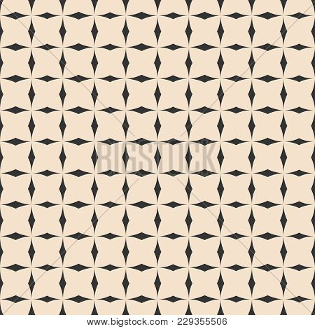 Tile Pastel And Black Vector Pattern For Seamless Decoration Wallpaper