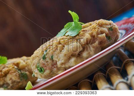 Roasted Cod And Chorizo Fish Cakes