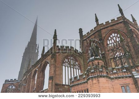 Holl Trinity Church, Broadgate Coventry, West Midlands Uk