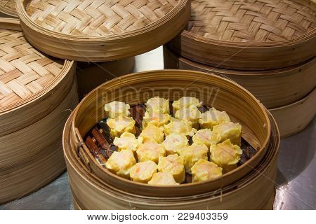 A Chinese Traditonal Cuisine Called Dim Sum