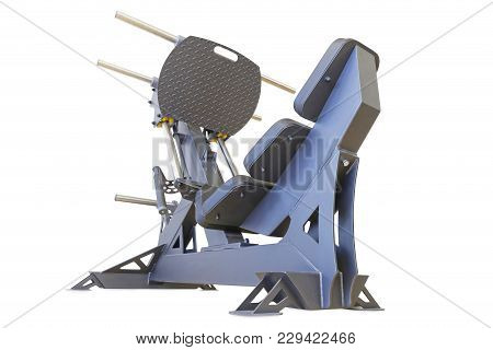 Gym Training Equipment For Leg Presses, Isolated