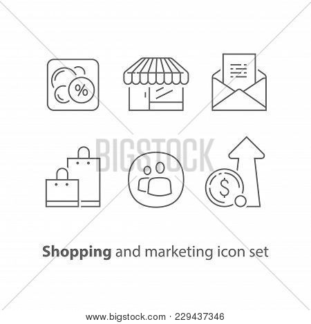 Shopping And Marketing, Email Promotion, Sales Increase, Loyalty Program, Discount Coupon, Revenue G