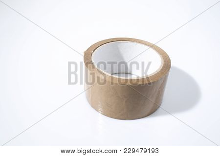 Packing Tape In A Background In A Composition