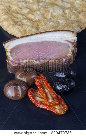 South Tyrolean Ham And Cheese On Slate